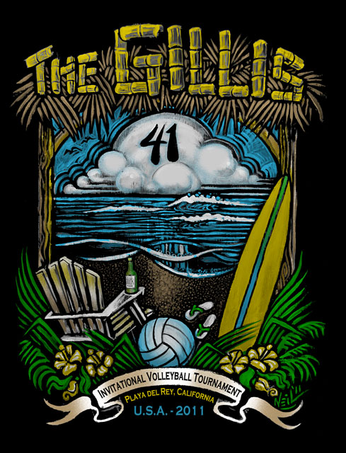 2011 Gillis 41 Tourney: August 6th & 7th, 8 AM  VOLLEYBALL IN PLAYA DEL REY