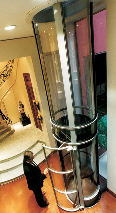 Vacuum Powered Home Elevator – This Elevator Rides on Air – Marina del Rey Condos