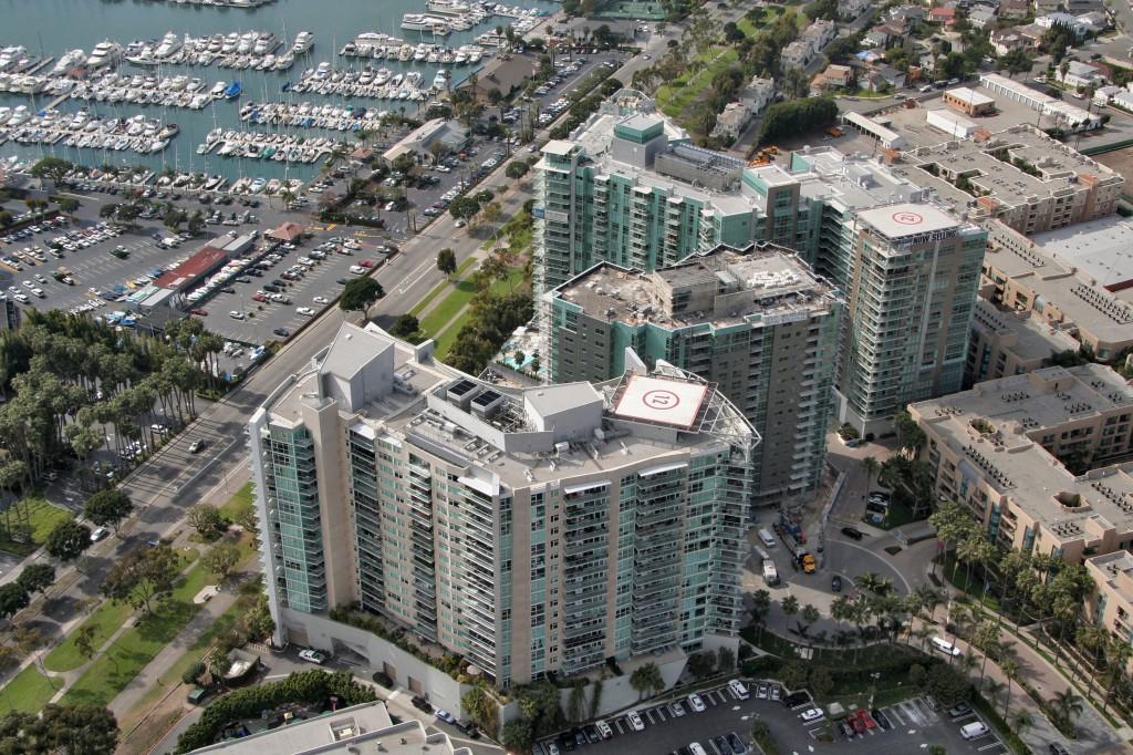 Marina Pointe Aerial