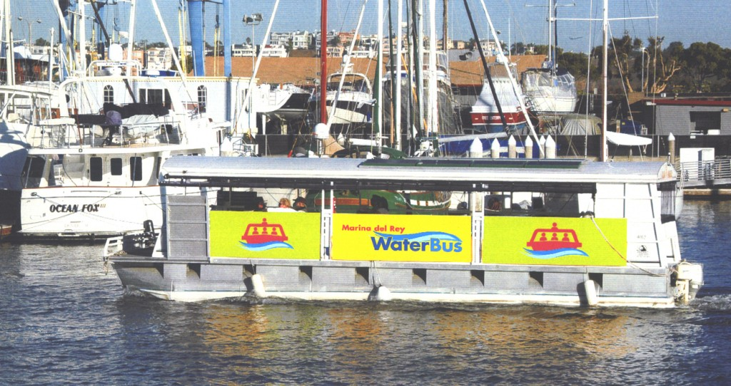 Marina del Rey's Water Taxi is Back on June 18th, 2015