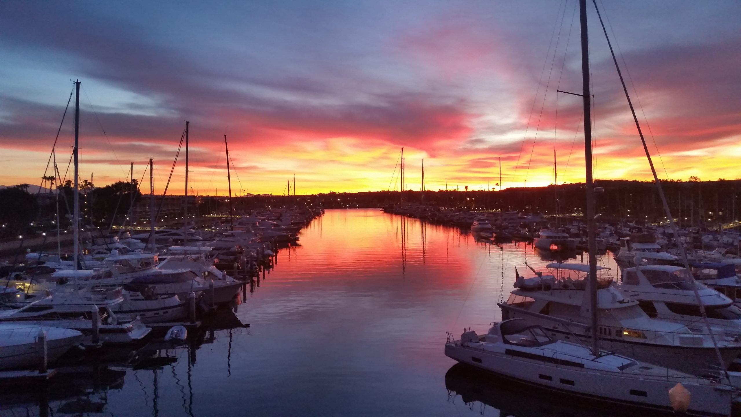 Thumbnail image for Amazing Marina del Rey Sunrise Pictures (for your amusement)