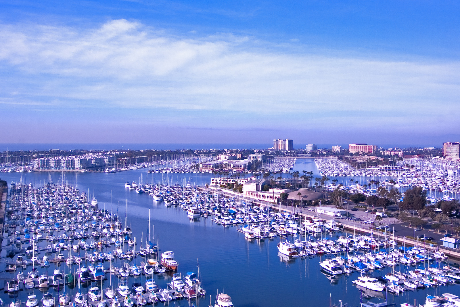 Nice winter morning in Marina del Rey.