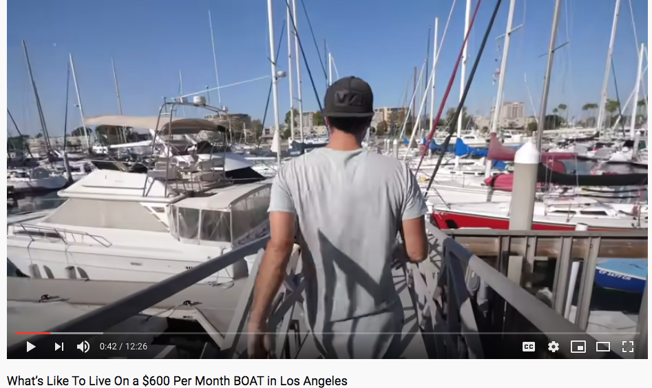 Bryce's Boat Tour in Marina del Rey – Too Hot to Handle Living on a boat?