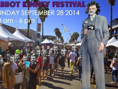 ABBOT KINNEY FESTIVAL is THIS SUNDAY!