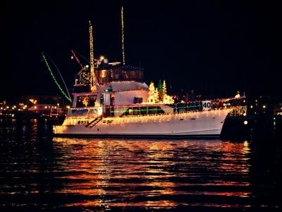 Christmas Boat Parade in Marina del Rey 2014