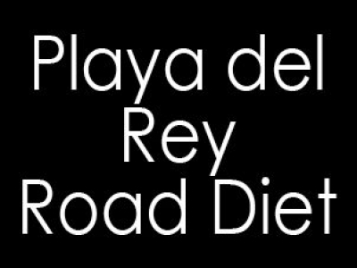 Playa del Rey Traffic Lanes will be Restored