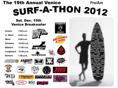 Venice Breakwater's 19th Annual Venice Surf-A-Thon – December 15, 2012